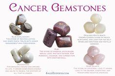 Cancer Gemstones
