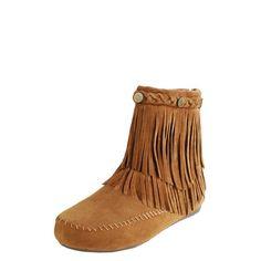 fringe boots