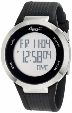 Kenneth Cole New York Unisex KC1697 Digital Silver Screen Dial Watch Kenneth Cole. $69.55. Japanese digital movement with day, date and year functions. Solid stainless steel round case. Quality leather strap. Water-resistant to 99 feet (30 M). Dependable Japanese Digital-Quartz movement