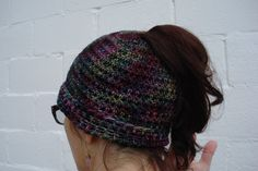 Crochet 101 (2 Session class) Messy Bun Hat