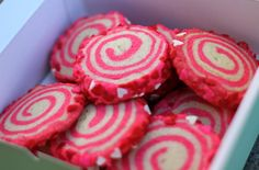 Valentine's Day *Food* - Sweet Swirl Cookies