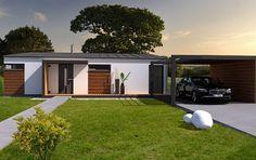 Návrh rodinného domu Quatro PACe od APEX ARCH s.r.o. Garage Doors, Outdoor Decor, Home Decor, Decoration Home, Room Decor, Home Interior Design, Carriage Doors, Home Decoration, Interior Design