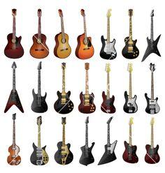 Love them acoustic....love them electric.  Love guitars!