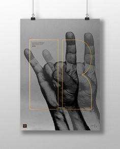 ROCK 50 X 70 CM                     Handmade Poster Design from Buus Works