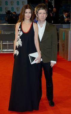 Sara MacDonald and Noel Gallagher. The 2015 BAFTA Awards - Gallery - Style.com