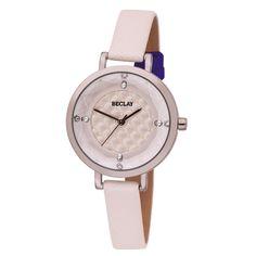 Reloj blanco de la marca BECLAY de CRISTIAN LAY. www.cristianlay.com