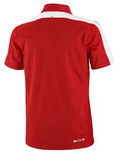 Koszulka Polo Ferrari Sports Polo - Red CZERWONY | FERRARI MEN \ POLO | Fbutik | Scuderia Ferrari Collection