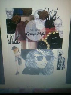 My grunge style book