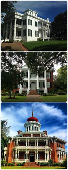 Three Beautiful Southern Homes in Natchez, MS: Stanton, Rosalie, and Longwood