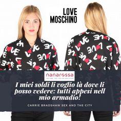 Prodotto Amore per la moda? Dillo anche con i vestiti! Felpa Love Moschino https://www.nanarossa.com/it/felpe/33033-w328100m3588.html