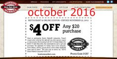 Free Printable Coupons: Boston Market Coupons