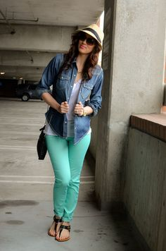 Outfit Ideas - 4.14.2012 - Excite-Mint — Carah Amelie