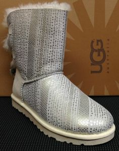 "Authentic UGG Australia ""Bailey Bow Bling"" 1004791 / WIWH Women's Boots NEW"