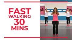 Fast Walking, Walking Everyday, Power Walking, Youtube Workout Videos, Leslie Sansone, Park Workout, Loose Weight Fast, Lose Weight, Walking Exercise