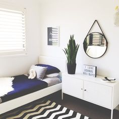 The tidiest this room has been all school holidays. It definitely deserved a photo!  #honeyandfizzhome #schoolholidays #kidsrooms #bedroom #interiors