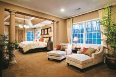 Toll Brothers - Escape to your own retreat with our luxurious master suites.