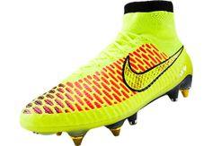 Nike Magista Obra SG Pro Soccer Cleats - Volt...Available at SoccerPro.