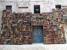 Books as architecture!