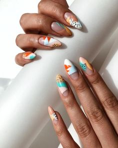 34 Trendiest and Newest Almond Nail Design You Must Have - Styles Art
