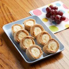 Peanut Butter-Banana Roll-Ups - EatingWell.com
