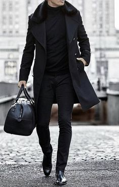 30 The coolest casual winter fashion outfits for me . 30 The coolest casual winter fashion outfits for me ⋆ zonamasak.me , 30 The Most Cool Casual Winter F. Gents Fashion, Fashion Mode, Mens Fashion Suits, Mens Suits, Fashion Boots, Trendy Fashion, Fashion Menswear, Fashion For Man, All Black Mens Fashion