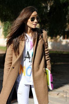Gafas de sol Rayban Aviator - Rayban Aviator sunglasses - Street style - Coohuco