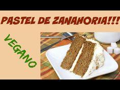 Como Hacer Pastel de Zanahoria VEGANO - Sin Harina!! - YouTube