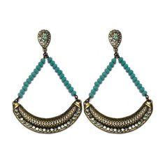 Que discreta que nada! Bora começar a segunda arrasando que é para dar mais energia para a semana! 🆒🎉❤👏🆕 #maxi #brinco #turquesa #colecao #primavera #moda #tendencia #estilo #new #turquoise #earrings #spring #collection #fashion #trend #style #instalook #instamood #instagood