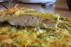 Fish baked in egg with mayonnaise - Cooking Come Cod Recipes, Salmon Recipes, Fish Recipes, Cooking Recipes, Baked Fish, Baked Salmon, Food Porn, How To Cook Fish, Russian Recipes