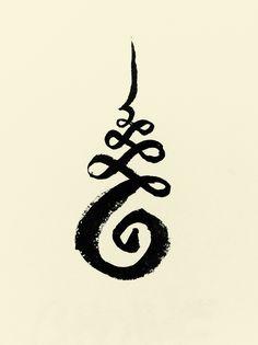 unalome - Google Search símbolo budista para describir el camino hacia la iluminación