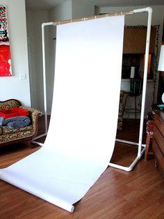 DIY Backdrop hanger