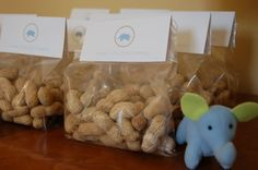 Baby Elephant 1st Birthday Party - Kara's Party Ideas - The Place for All Things Party