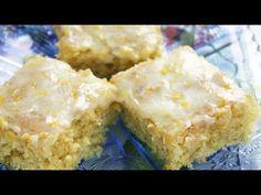 Recipe For Lemon Desserts : One Bowl Lemon Brownies - Super Easy Recipe Lemon Desserts, Lemon Recipes, Just Desserts, Baking Recipes, Delicious Desserts, Healthy Desserts, Easy Recipes, Healthy Food, Healthy Recipes