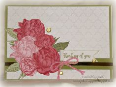 Gina's Little Corner of StampinHeaven: January Stamp of the Month Blog Hop - Beloved Bouquet