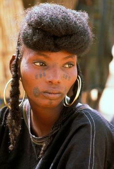 Africa | Wodaabe at the Gerewol Festival. Niger | ©Michel Renaudeau
