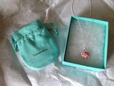 Tiffany Pig Pendant -- I want you so bad Xmas is around the corner baby ❤