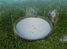 China ha concluido la instalación del radiotelescopio más grande del mundo