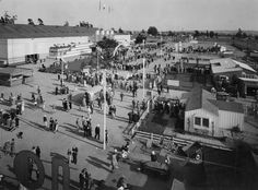 Historic Photograph of Home Show At The Pan Pacific Auditorium 1935