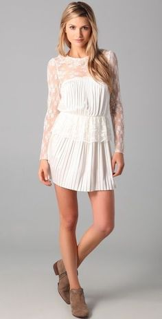 $228 Free People Young Victorian Dress 2 #FreePeople #VictorianMini