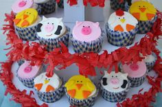 Hmmmm, these might be the winners for Croix's 2nd birthday cupcakes at Superstition Farm.