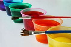 Disso Voce Sabia?: Receitas de tintas para artesanato caseiras e ecológicas - as crianças se divertem sem risco de intoxicação
