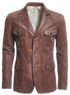 Leather Blazer - # 716 : MakeYourOwnJeans®: Made To Measure Custom Jeans For Men Women, Customize Jeans, Suits, Leathers Quoi Porter, Rugged Style, Look Plus, Leather Blazer, Red Leather, Looks Cool, Blazers, Men Casual, Mens Fashion