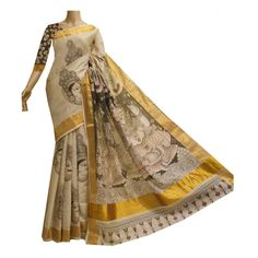 words painting on sarees - Google Search