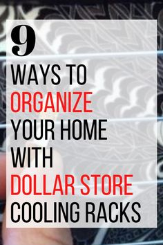 Organize your home on a budget with these DIY dollar store storage tips and ideas. Easy storage ideas for your closet, bedroom, kitchen and bathroom on a dime. #hometalk