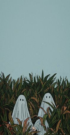 two ghost wallpaper