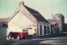 Falles Garage, the very early days. Now Bagot Road Garage