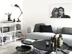 Here we showcase a a collection of perfectly minimal interior design examples for you to use as inspiration.Check out the previous post in the Examples Of Minimal Interior Design Interior Design Examples, Interior Design Inspiration, Design Ideas, Interior Ideas, Home Living Room, Living Room Designs, Living Area, Cozy Living, Living Spaces