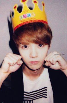 EXO-M's Luhan. Omo, cuteness!!!