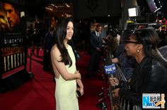 Chinese actress Tang Wei attends the premiere of 'Blackhat' at the TCL Chinese theatre in Los Angeles, California, January 8, 2015.