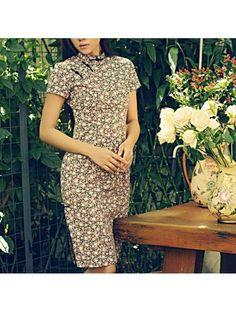 #660928 #AnnularRings #Qipao #Cheongsam - Sweet Chinese Pink Floral Dress in Qipao Style for Female Beauty - vintage cheongsam,  cheongsam styles,  cheongsam rental,  baby cheongsam,  shoes for cheongsam,  cheongsam shoes,  oriental cheongsam,  mini cheongsam,  cheongsam dress pattern,  cheongsam sewing pattern,  modern cheongsam dress,  gold cheongsam,  cheongsam blouse,  long sleeve cheongsam,  pink cheongsam,